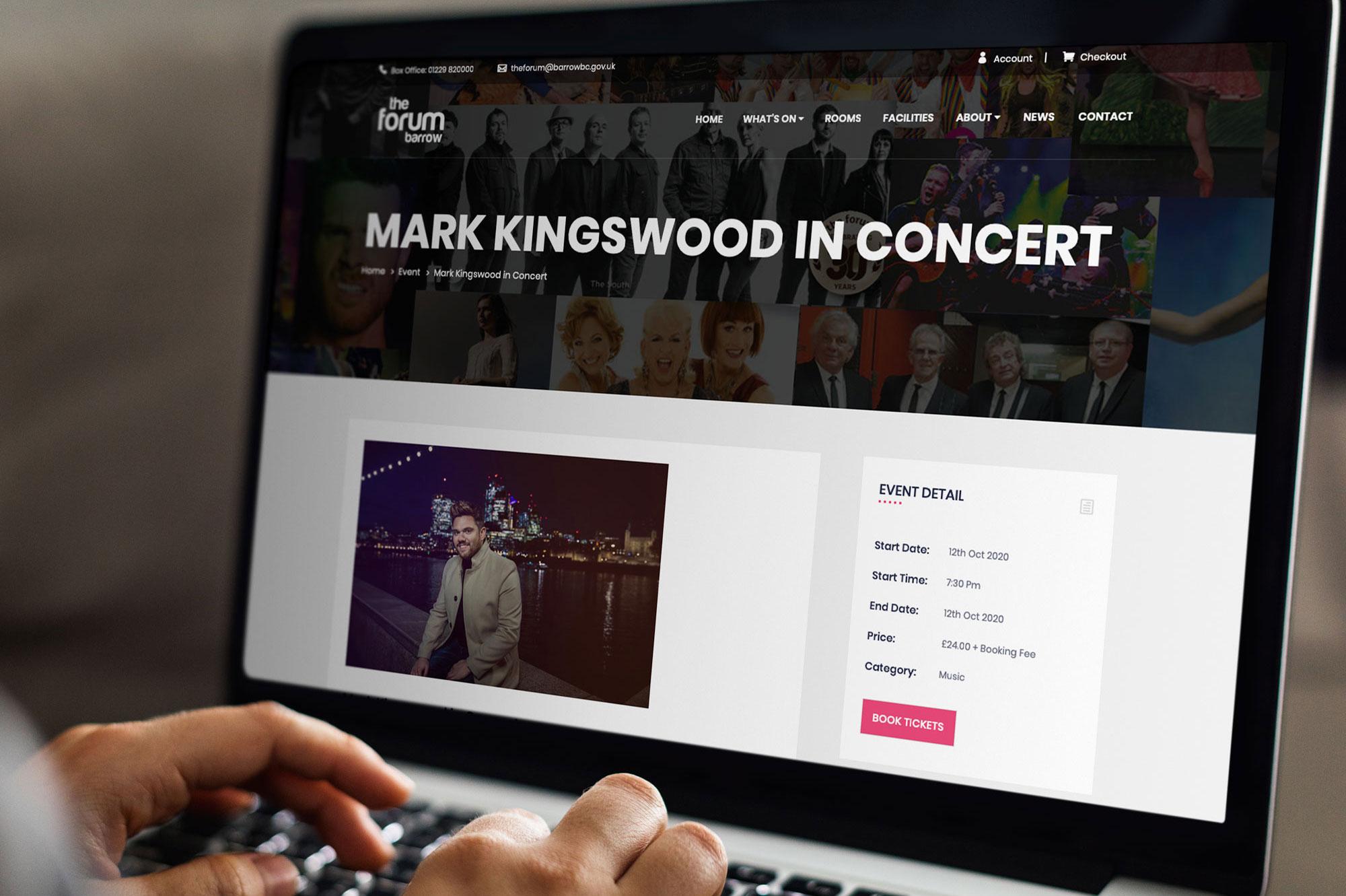 Events Web Design