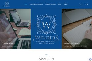 Winders Web Design Visual