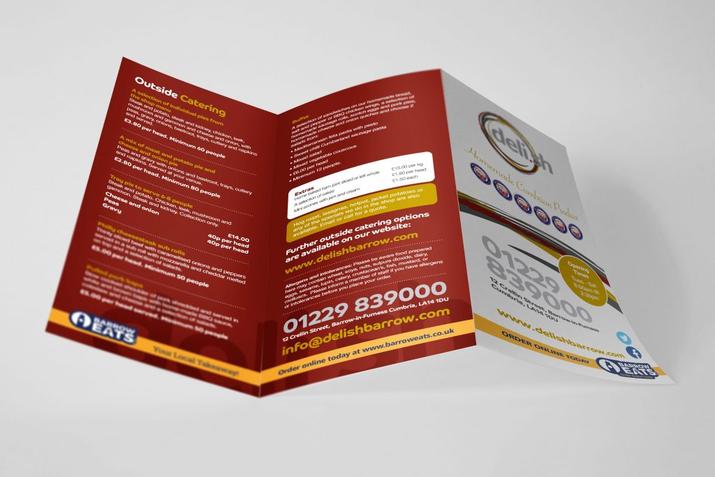 Takeaway Leaflet Design & Print Home / Graphic Design / Takeaway Leaflet Design & Print