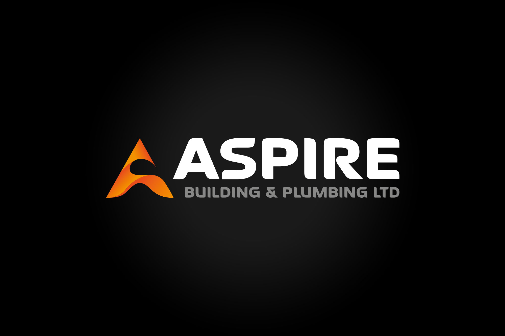 Aspire Building & Plumbing Logo Design