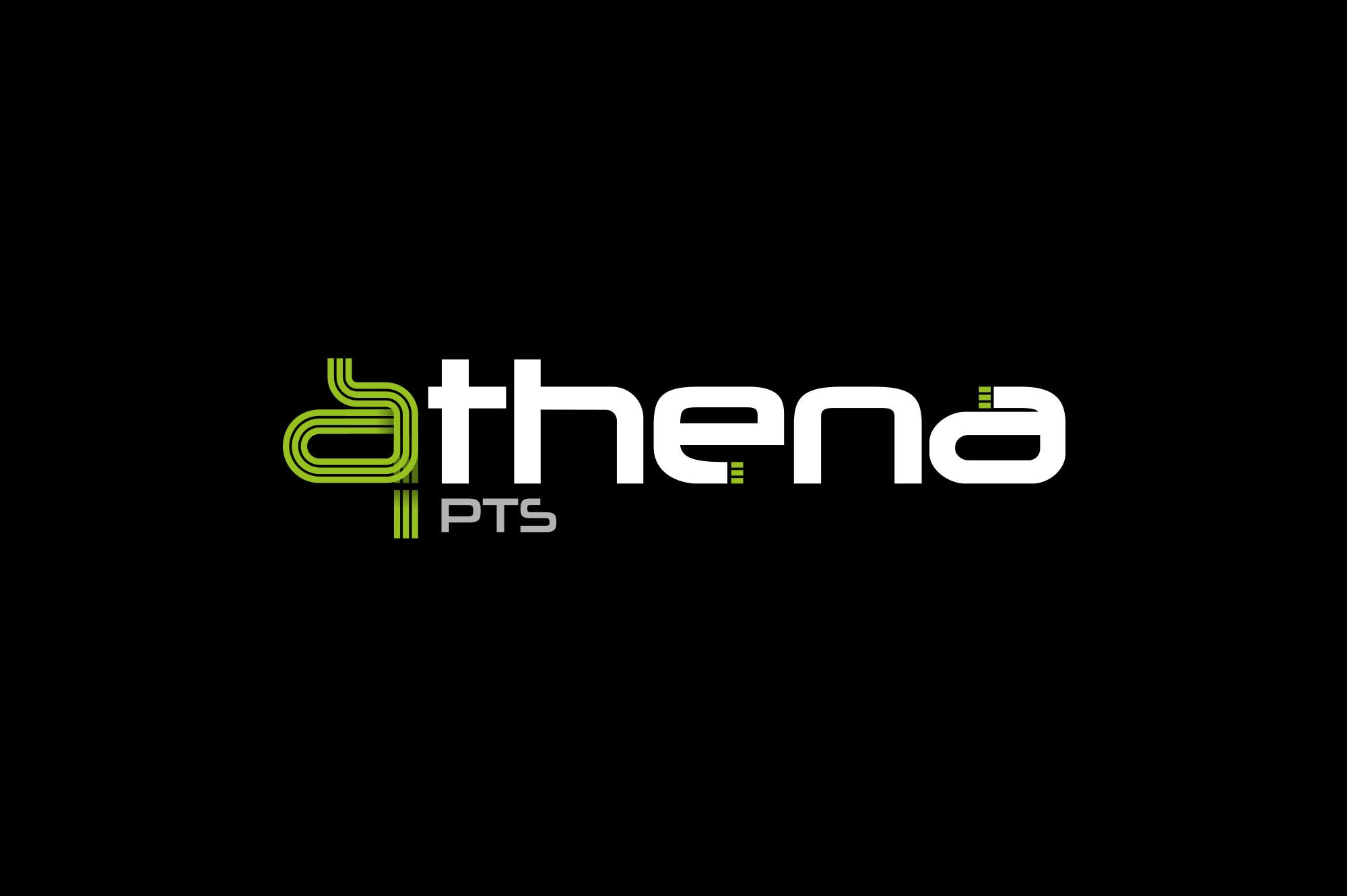 Athena PTS Logo Design