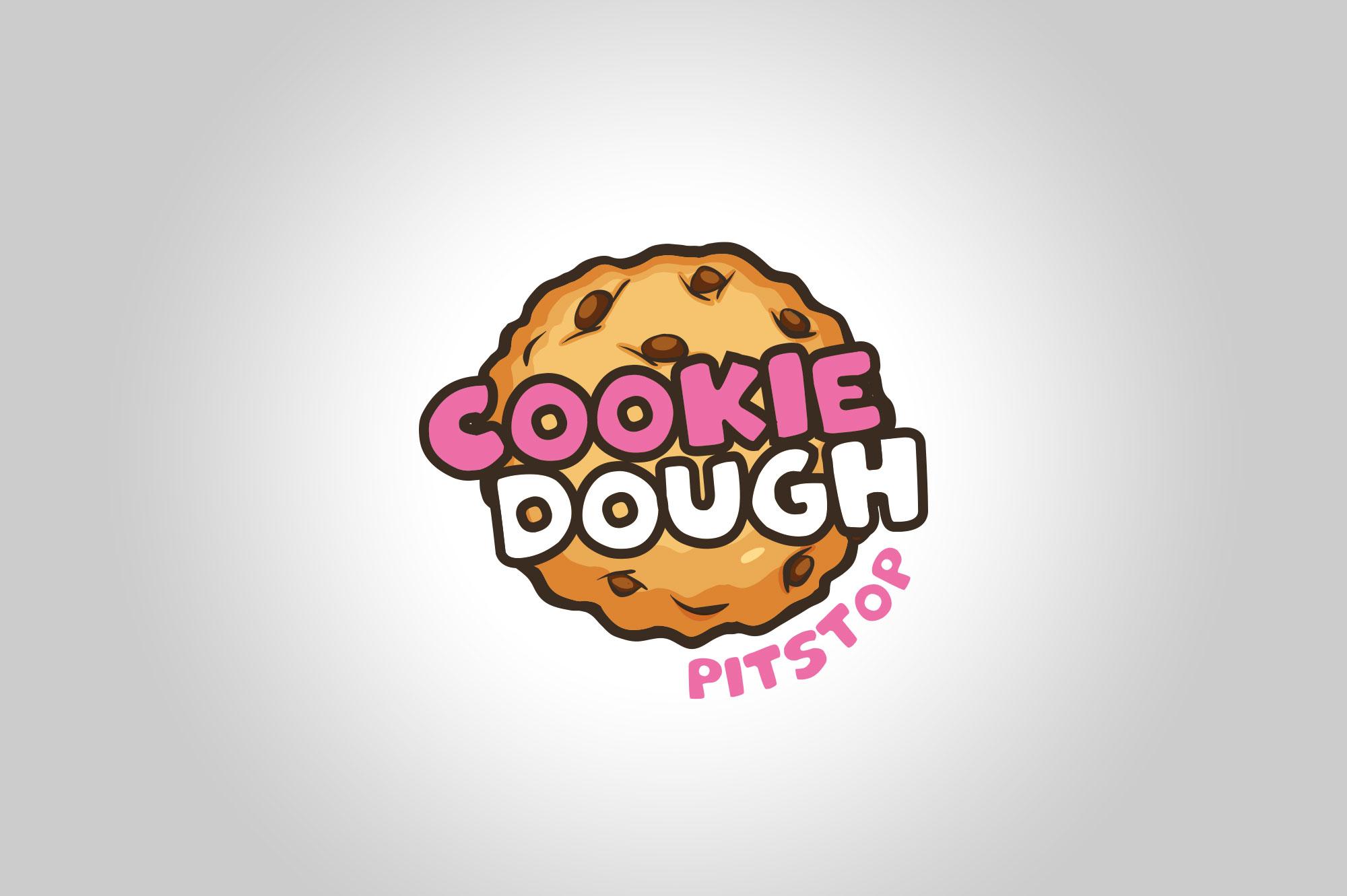 Cookie Dough Pitstop Logo Design