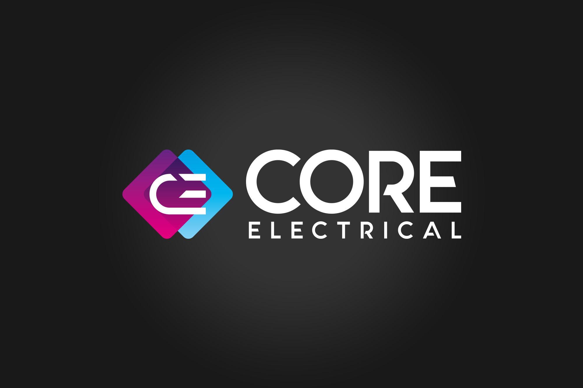 Core Electrical Logo Design