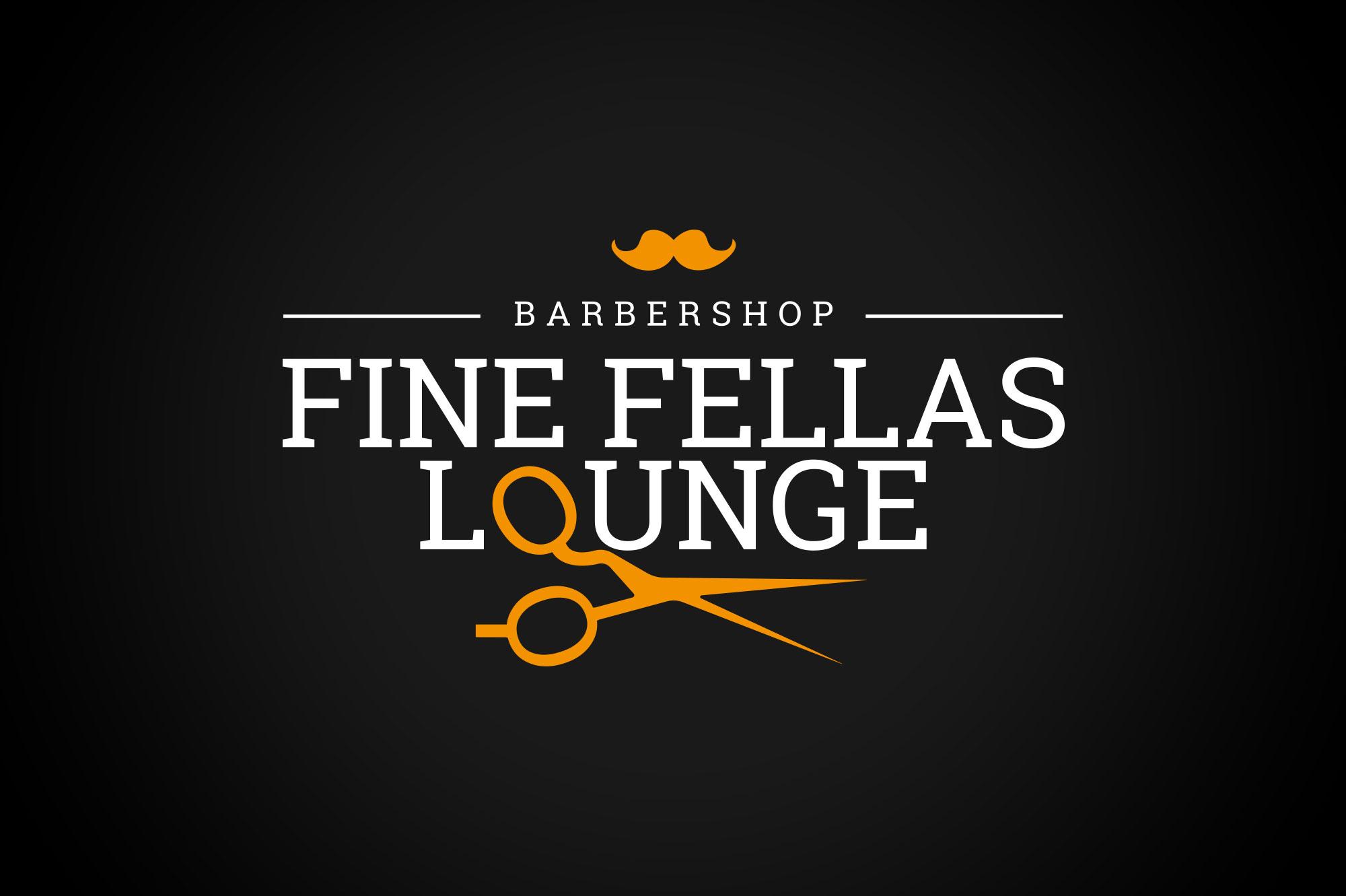 Fine Fellas Lounge Logo Design