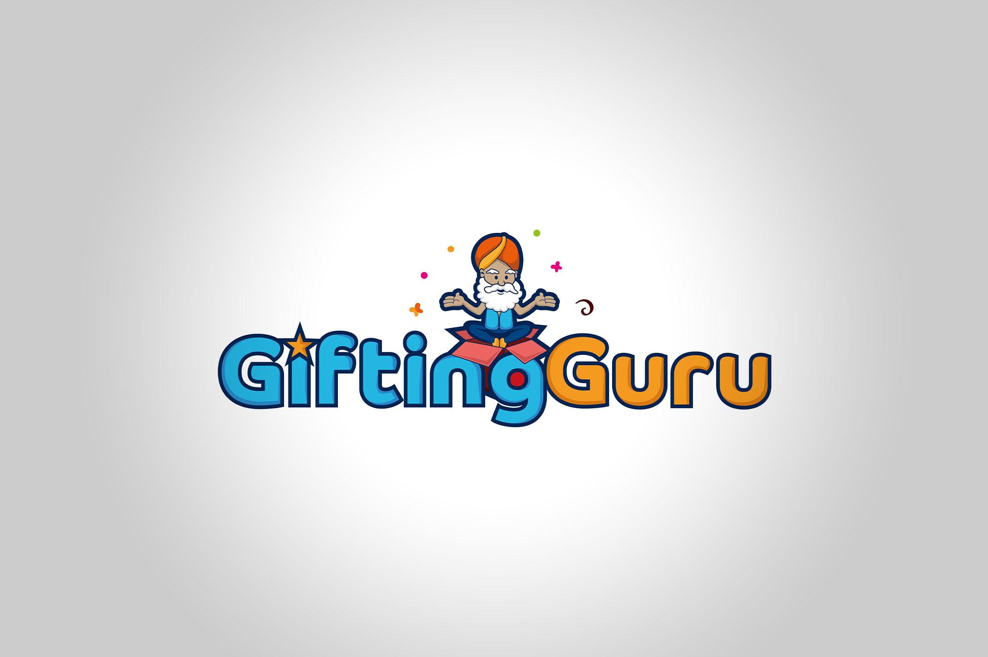 Giftin Guru Logo Design