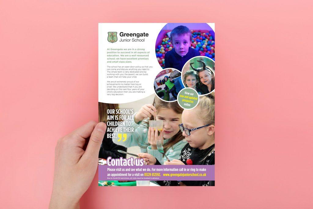 Junior School Leaflet Design