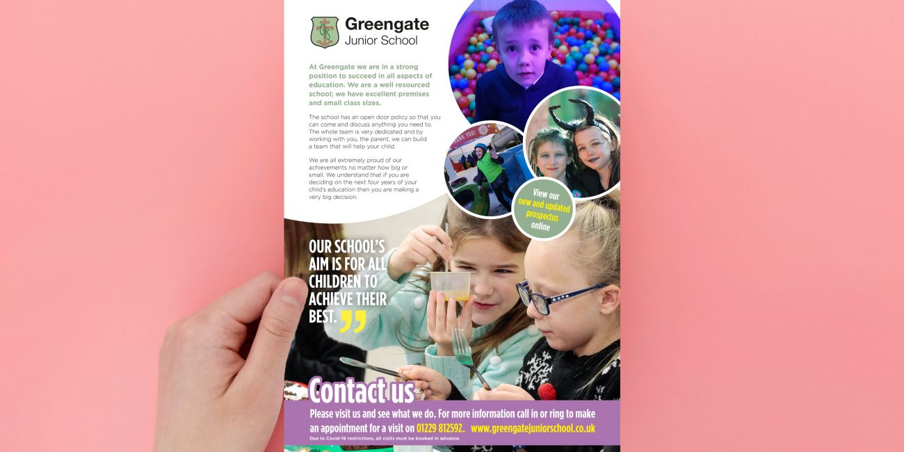 Junior School Leaflet Design