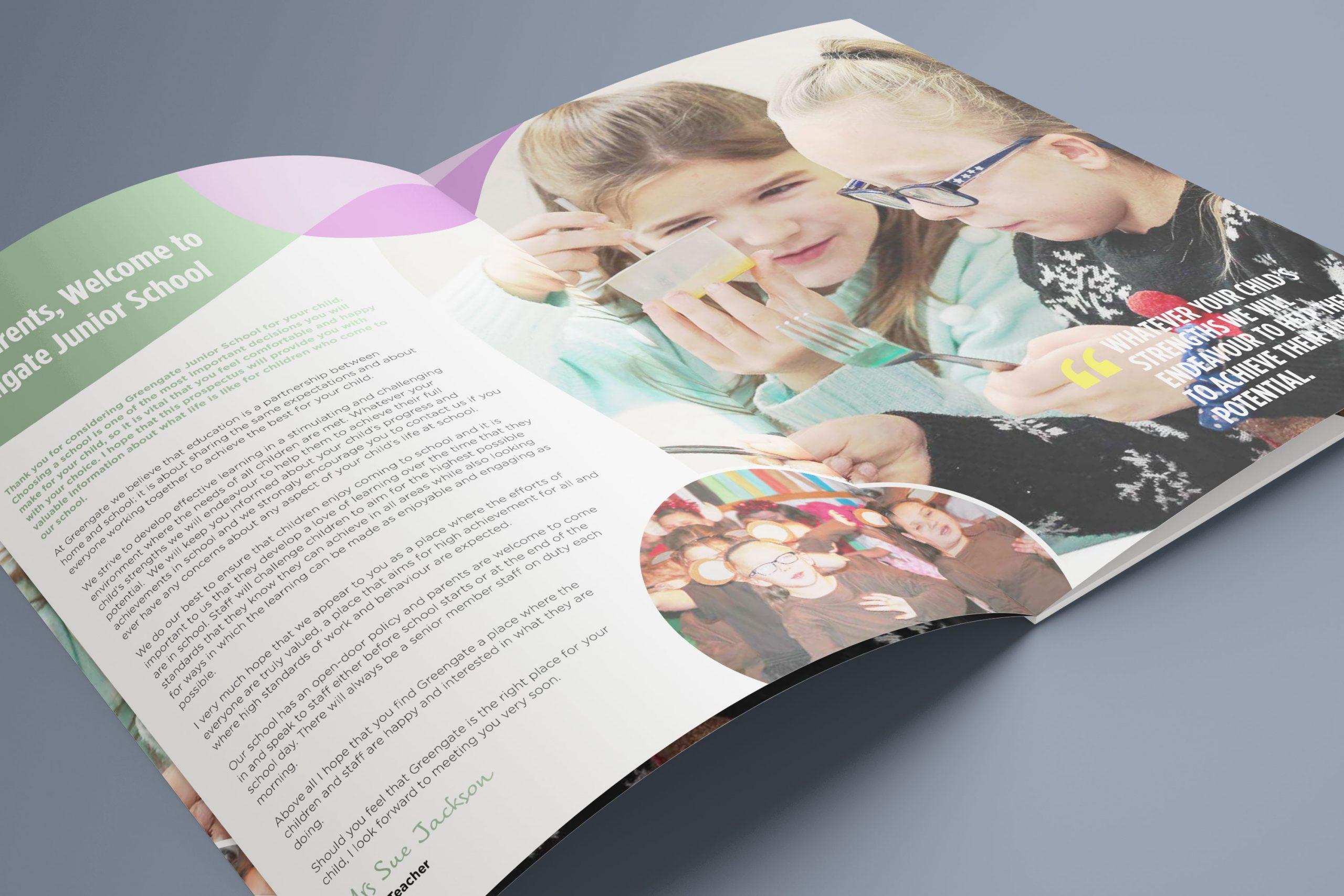 Junior School Prospectus Design