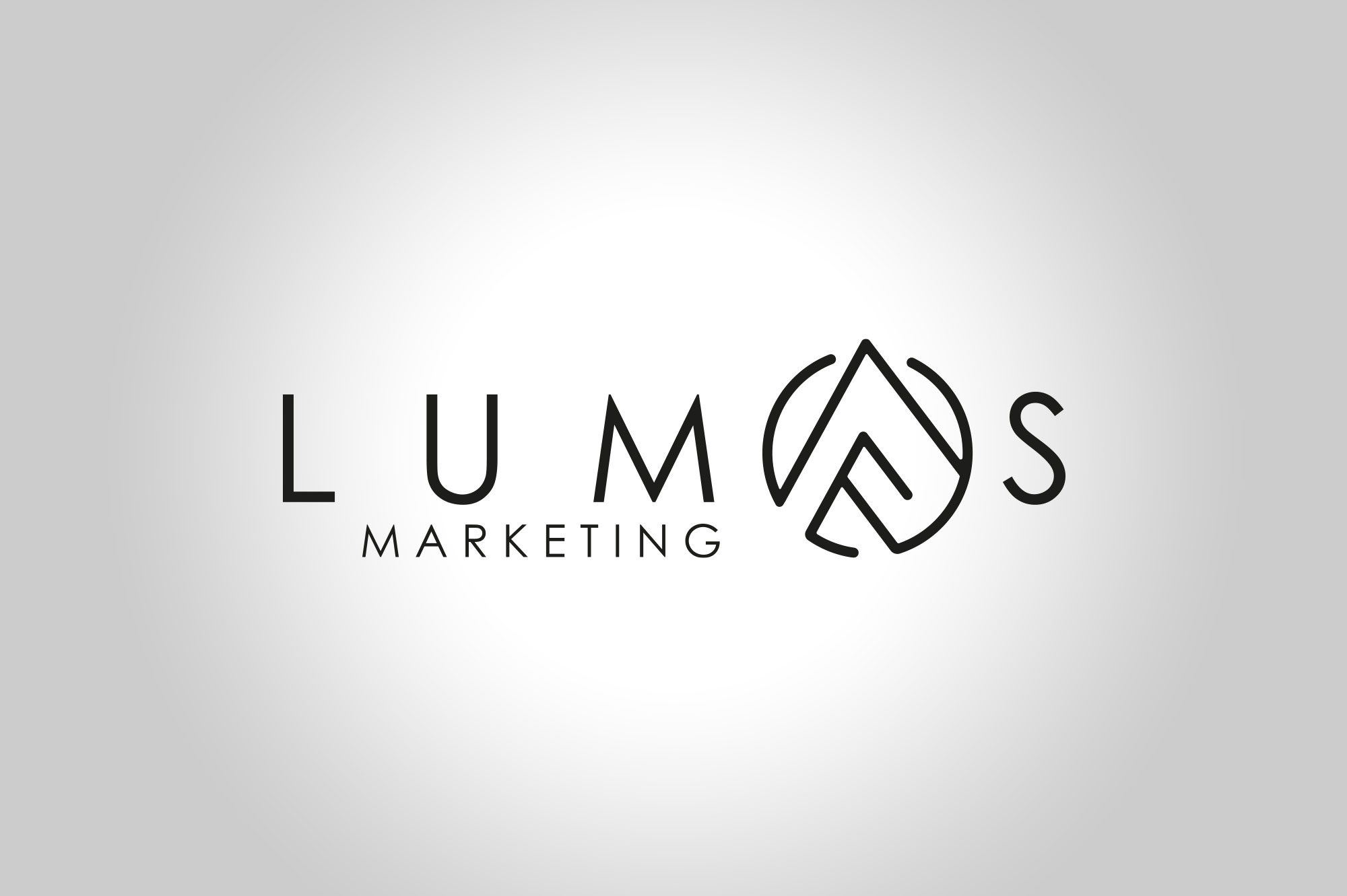 Lumos Moarketing Logo Design