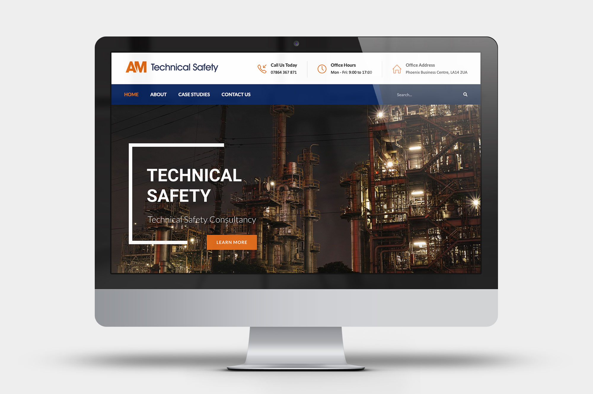 Technical Safety Consultancy Website